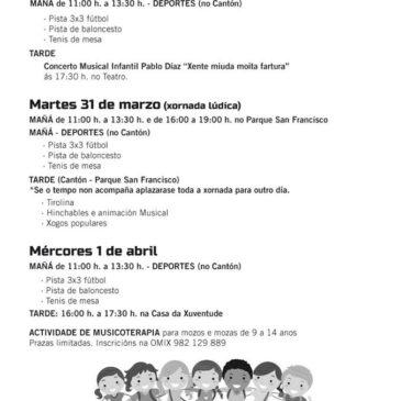 Actividades Semana Santa 2015 en Ribadeo