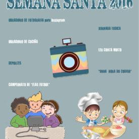 ACTIVIDADES INFANTIS E XUVENIS SEMANA SANTA 2016