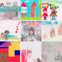 """Certame de narración e debuxo infantil  """"Letras Galegas 2018″"""