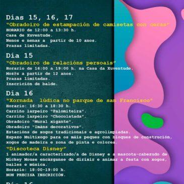 Actividades infantís e xuvenís Semana Santa 2019